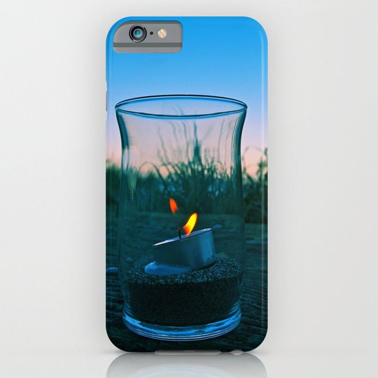 Seaside flame iPhone & iPod Case