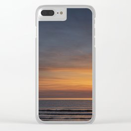 A Sunset in Cornwall Clear iPhone Case