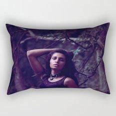 Secret beach trail Rectangular Pillow
