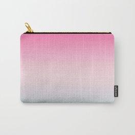 Ombre gradient digital illustration pastel colors Carry-All Pouch