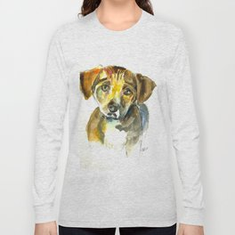 Sympathetic puppy Long Sleeve T-shirt