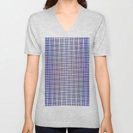 blue chromatic Unisex V-Neck