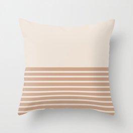 Sunrise / Sunset X Throw Pillow