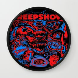 Do You Have The Creeps Wall Clock