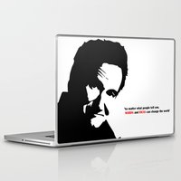 robin williams Laptop & iPad Skins featuring Robin by Medieval_Siren