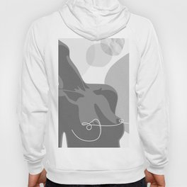 Covered With Line Hoody