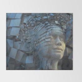 Dissolution of Ego Throw Blanket