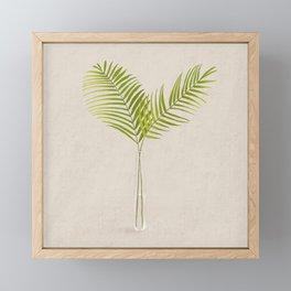 Areca Palm Framed Mini Art Print