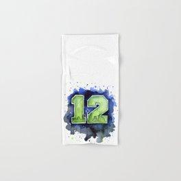 12th Man Seahawks Seattle Go Hawks Art Hand & Bath Towel