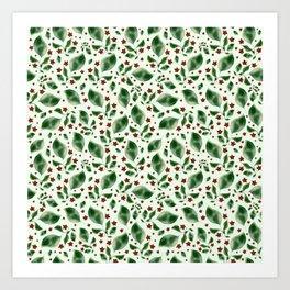 Lush Greens Art Print