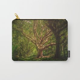 Huge Tree Middle Of Forest Carry-All Pouch