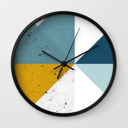 Modern Geometric 17 Wall Clock