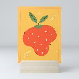 Red berry Mini Art Print