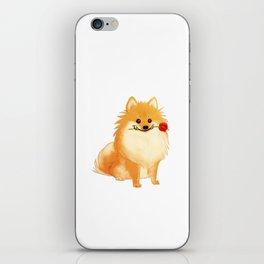 Charming Pomeranian iPhone Skin