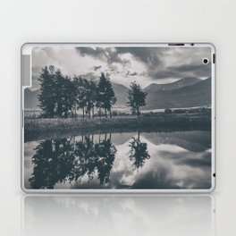 Black and white lake Laptop & iPad Skin