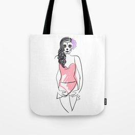 Dead Beauty Tote Bag
