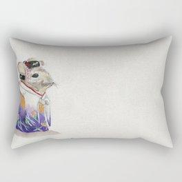 Geisha Chinchilla Rectangular Pillow