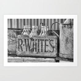 Antique lemonade Art Print