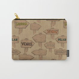 Travel the world in 80 days Carry-All Pouch