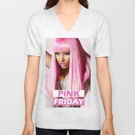 Pink Friday. Unisex V-Neck