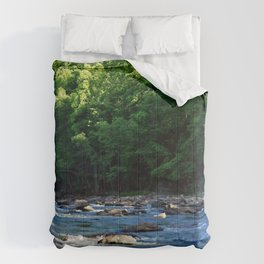 A Creek and Forest in West Virginia  Comforters