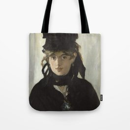 Edouard Manet - Young woman in a black hat Tote Bag