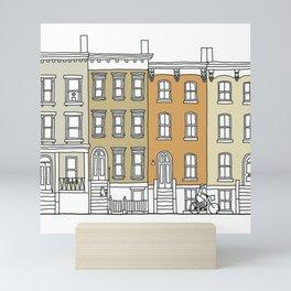 Brooklyn (color) Mini Art Print
