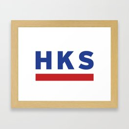 HKS Framed Art Print