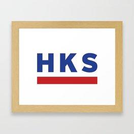HKS Framed Art Print