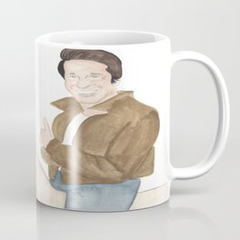 FONZIE RIDING THUMBS UP OFF INTO THE SUNSET Coffee Mug