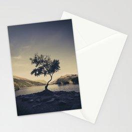 Tree at Llyn Padarn II Stationery Cards
