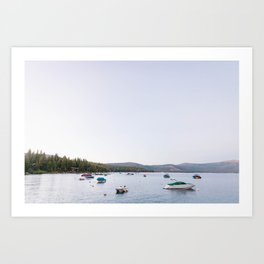 LAKE TAHOE 6 Art Print