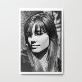 Francoise Hardy music poster Metal Print