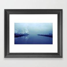 Tacoma tideflats  Framed Art Print