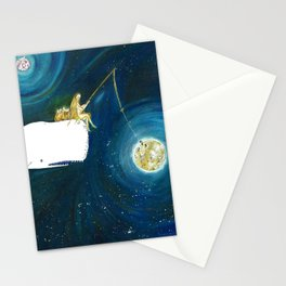 Fishing stars Stationery Cards