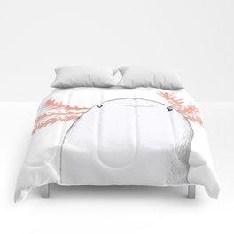 Axolotl Close-Up Comforters