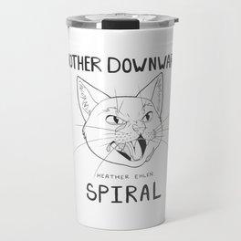 Another Downward Spiral - Angry Tears Travel Mug