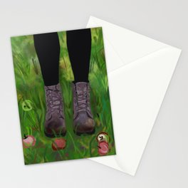 Doc Marten Boots #popart Stationery Cards