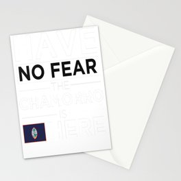 Have No Fear The Chamorro is here Pride Proud Guam Guamanian Stationery Cards