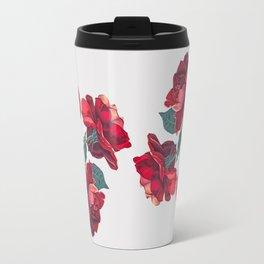Red Roses Travel Mug