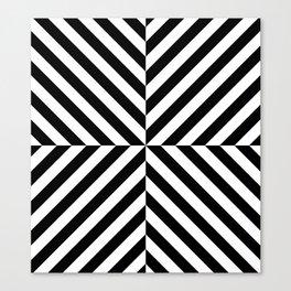 Chevronish Canvas Print