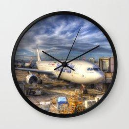 Iran Air Airbus A330-200 Wall Clock