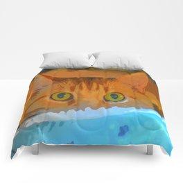 Sir Watson Tabby Digital Cat Comforters