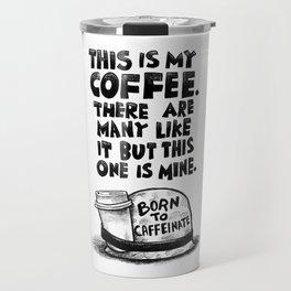 FULL COFFEE JACKET Travel Mug