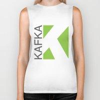kafka Biker Tanks featuring Kafka Educación en línea by Kafka Prepa Abierta