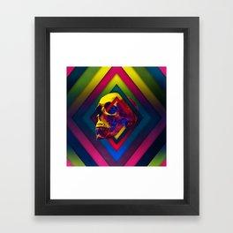 Lifeful Skull V2 Framed Art Print