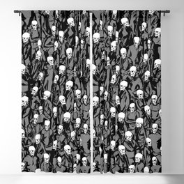 Skull Society Blackout Curtain