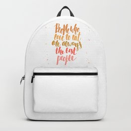 Eaters gonna eat Backpack