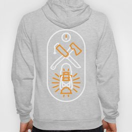 The Great Outdoors- Clear Hoody
