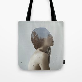 Being in nature Tote Bag
